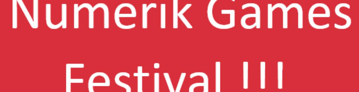 Le Festival du Numerik Games 2019 approche à grand pas !