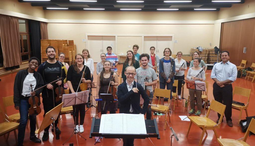 Inauguration de nos répétitions d'orchestre !